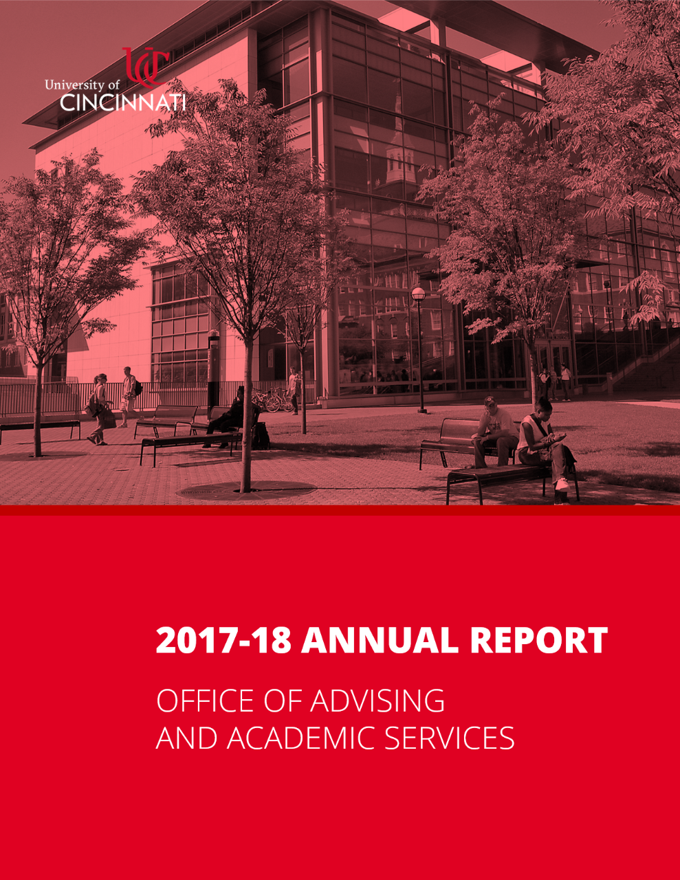 2017-18 Annual Report - Office of Advising & Academic Services - Click to Download
