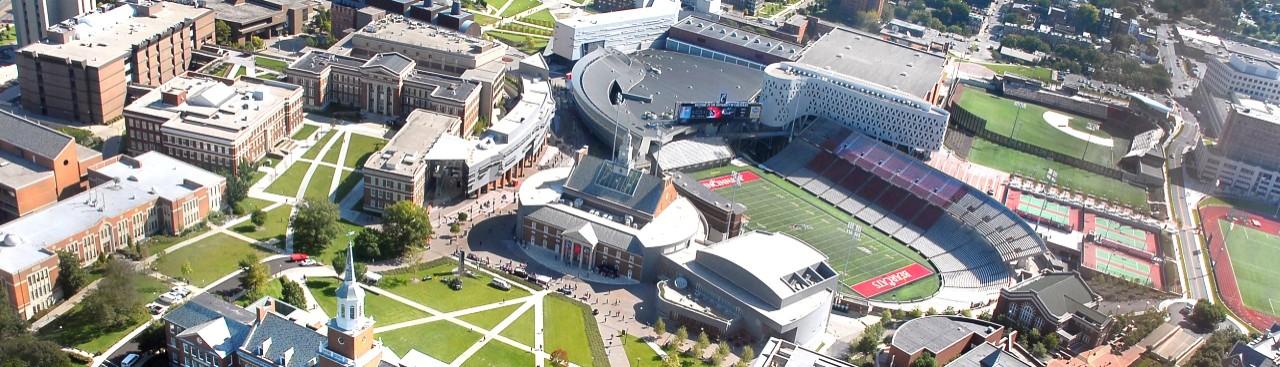 Aerial of West Campus