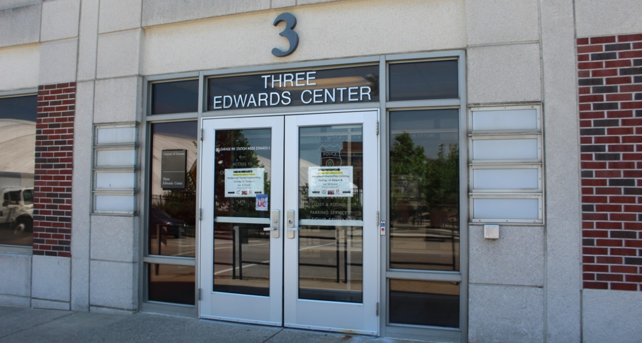 The Public Safety Department is located in Three Edwards Center.