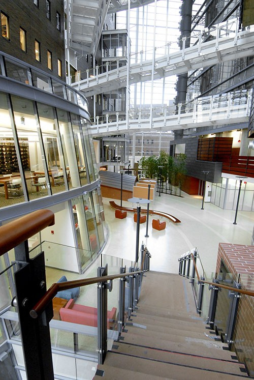 Interior of the Medical Sciences Building