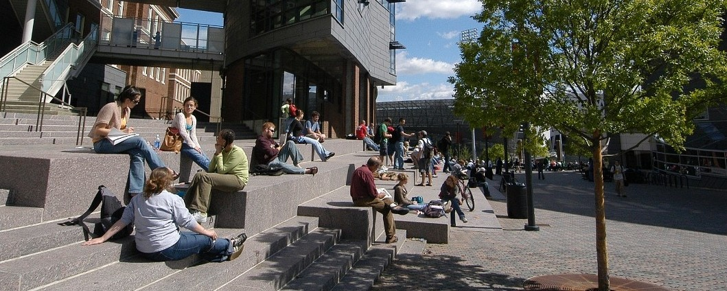 mainstreet, the heart of UC's campus
