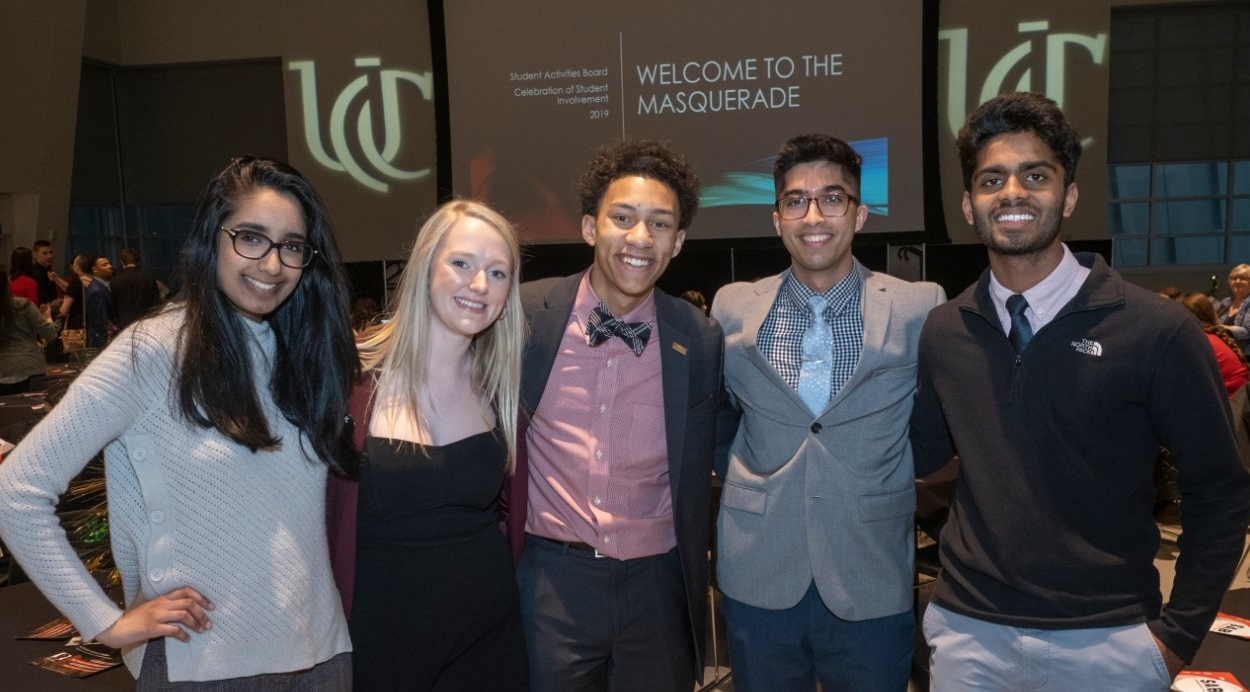 Students at Celebration of Student Involvement Awards