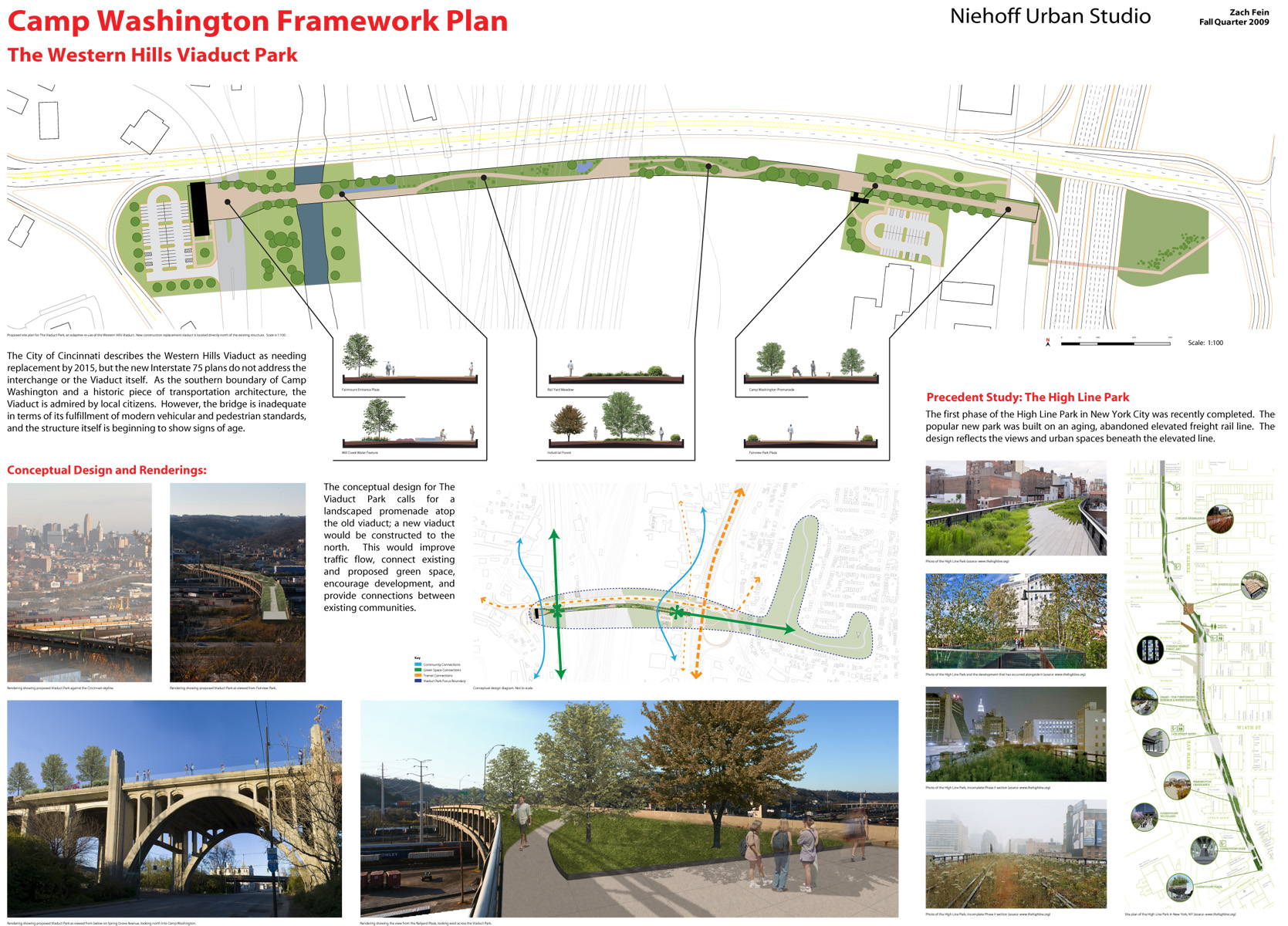 Great streets and gateways for Architectural concept board examples