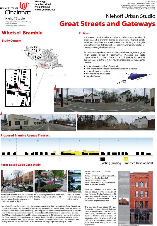 Form-Based Code at Whetsel and Bramble | Niehoff Urban Studio