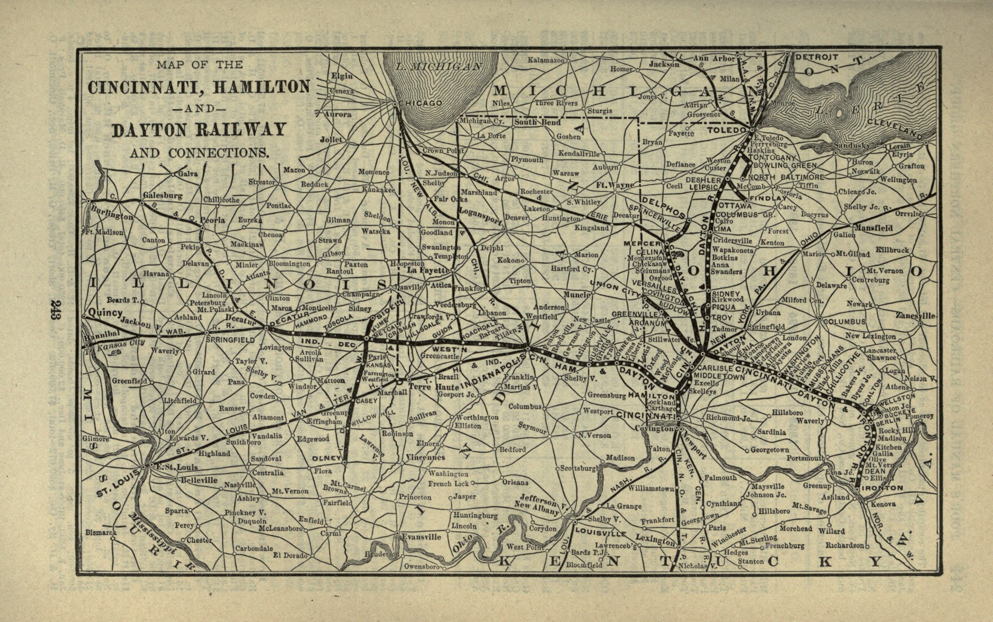 Historical information on greater cincinnati