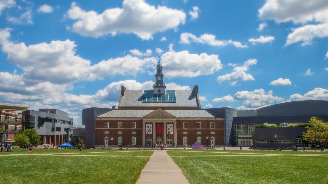 Tangeman University Center as seen from McMicken Hall