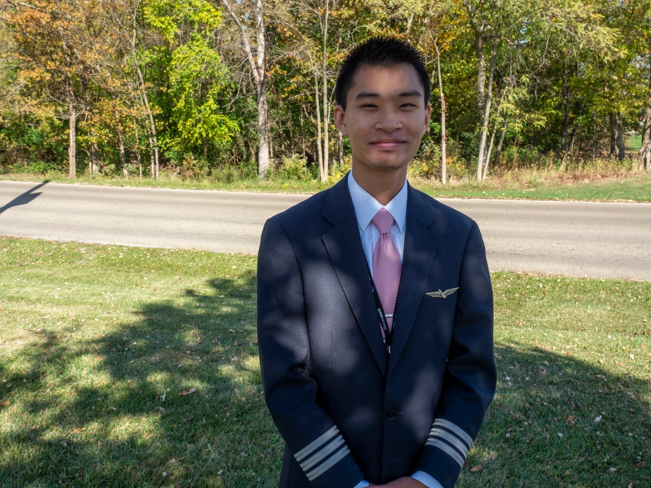 Aviation grad finds success in the skies