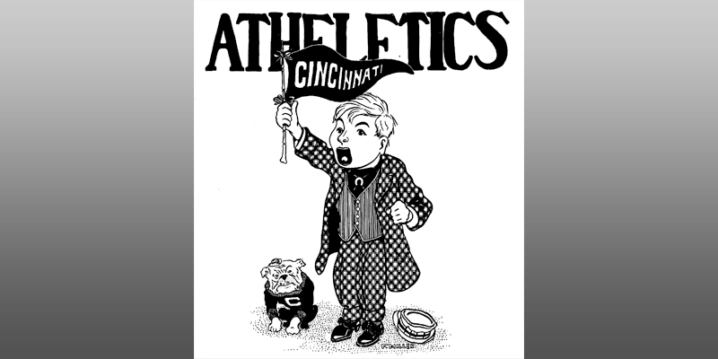 Early athletics image of a UC Bulldog