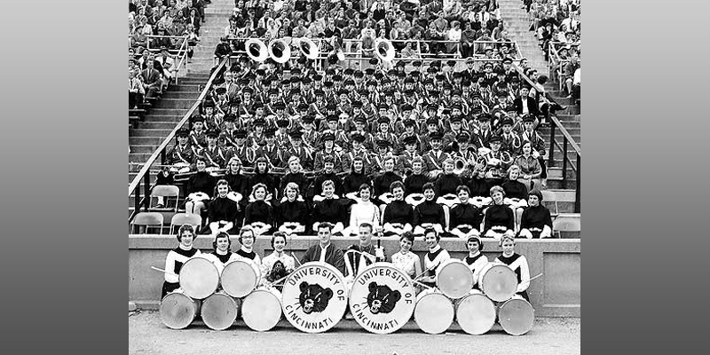 1957 UC Marching band
