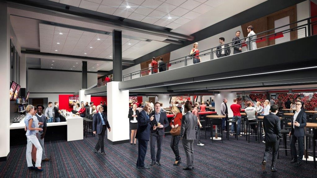 Interiror Rendering Of Fifth Third Arena
