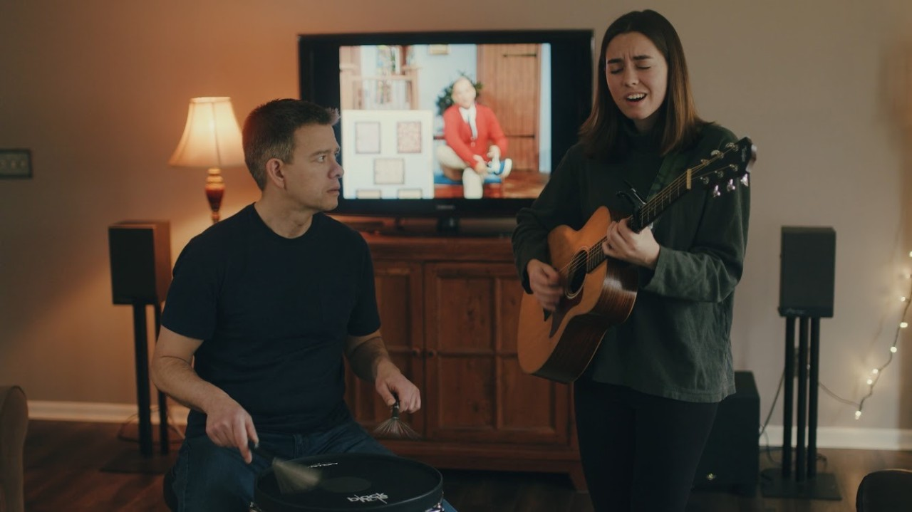Spectrum News: UC student Abby Holliday performs COVID-19 song to raise spirits