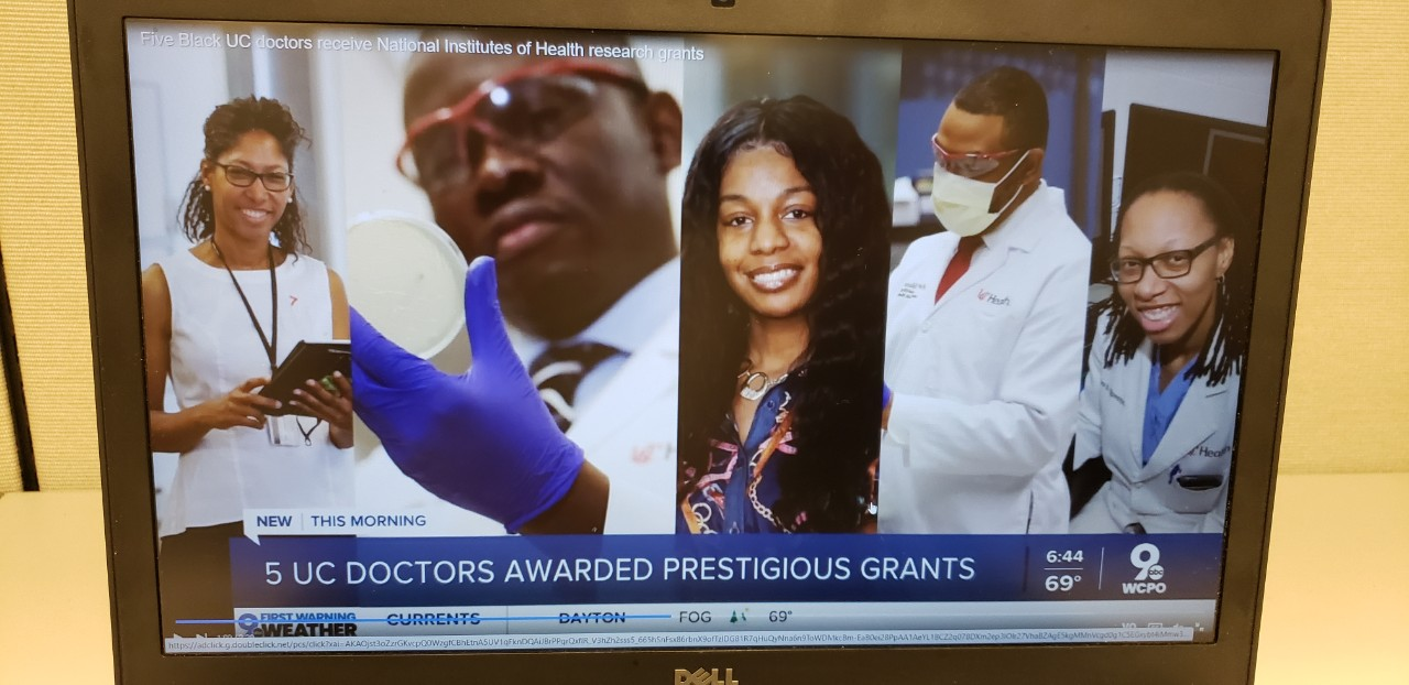 Yahoo News: Five Black UC faculty members receive National Institutes of Health grants