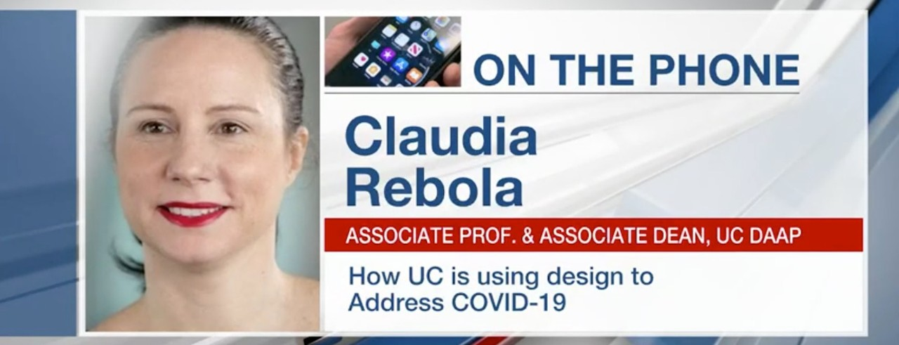 FOX19: UC's DAAP helping address COVID-19