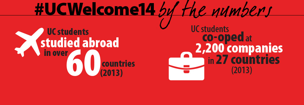 UC Welcome Co-op and study abroad