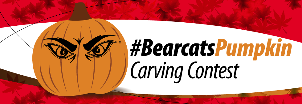 #BearcatsPumpkin carving contest.