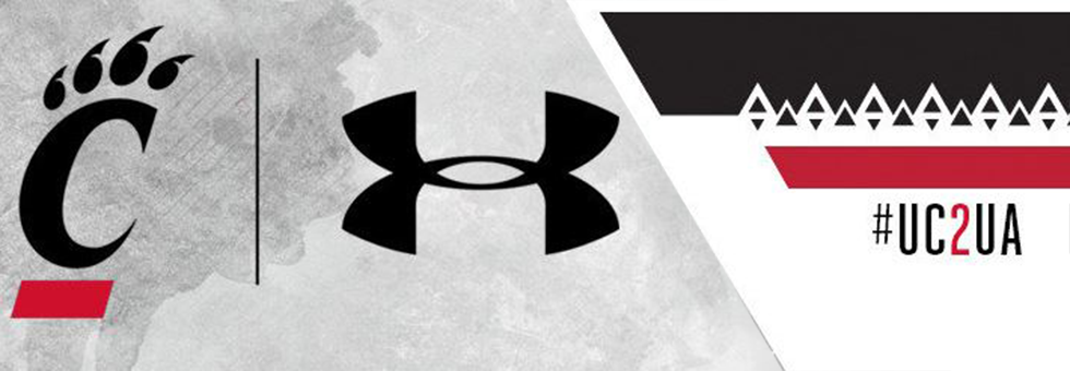 UnderArmour, Cincinnati graphic.