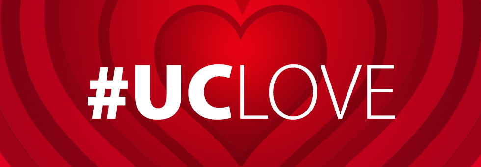 #UCLove graphic.