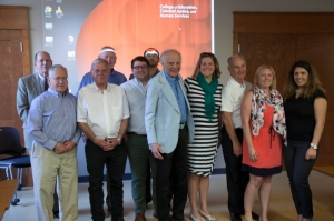 Graduate student fellowship recipients and their mentors.