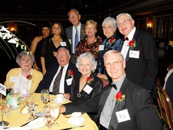 Seretha with the class of 1958