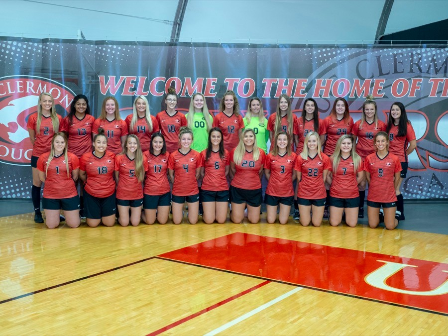 2018 UC Clermont women's soccer team
