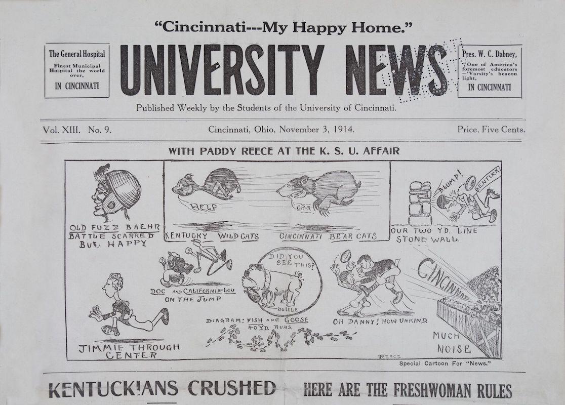 1914 edition of University News