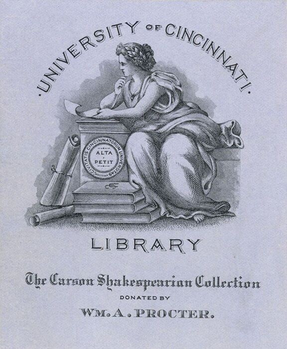 UC Library collection sign