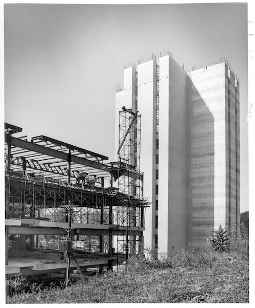 Crosley Tower construction