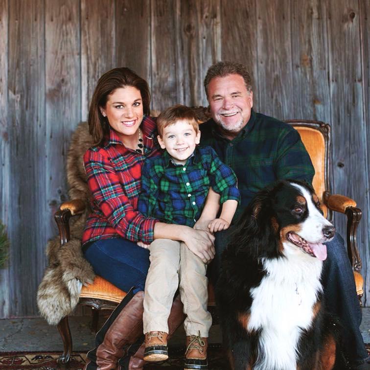 Kelly Hollatz in a family photo