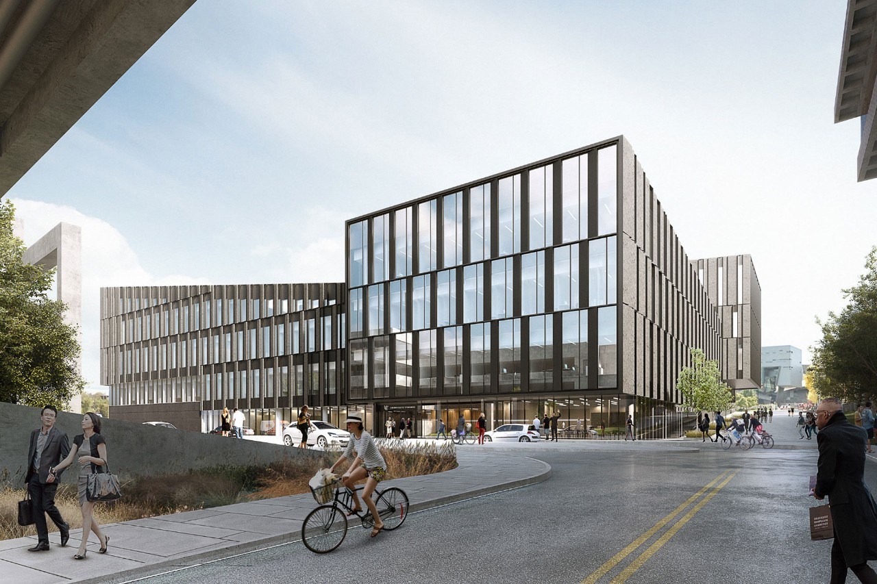 Rendering of New Lindner College of Business Building scheduled to open Fall 2019