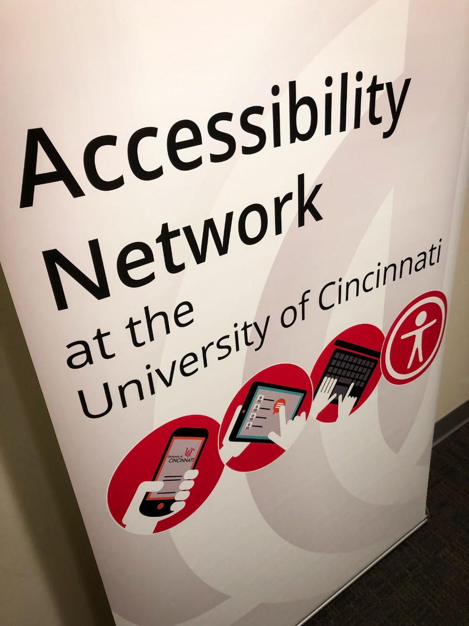 Banner for Accessibility Network at UC