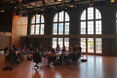 Playwrights hone their craft in CCM's Dieterle Vocal Arts Center.