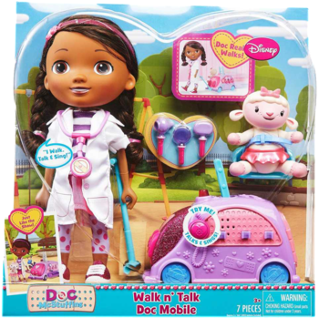 Doc McStuffins Walk n' Talk Doc Mobile toy