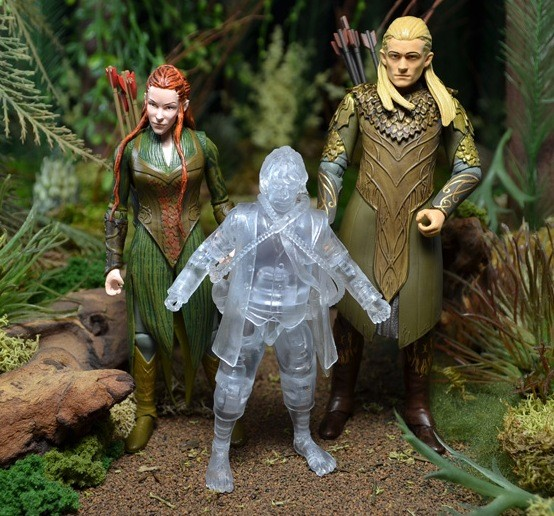 The Bridge Direct action figures from The Hobbit