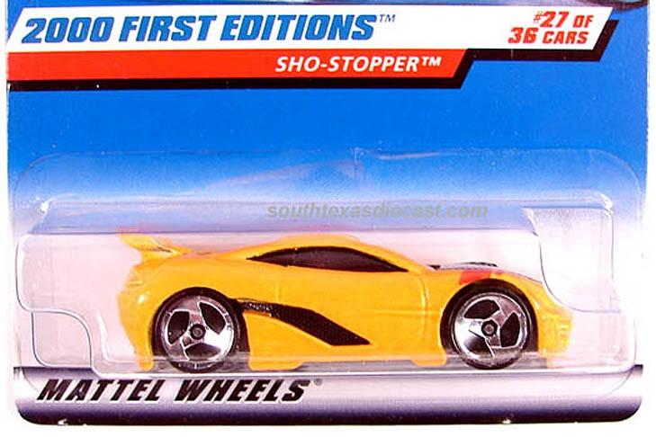 Mattel Wheels First Edition toy car