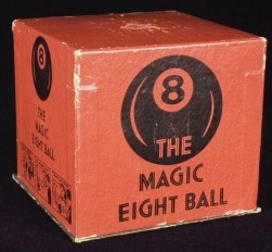 The original Magic Eight Ball toy