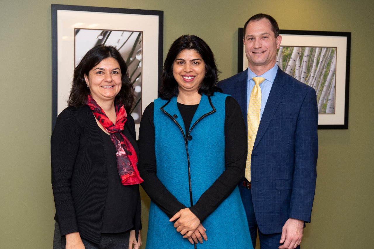 Pooja Khatri, MD, Achala Vagal, MD, and Brett Kissela, MD, of the UC College of Medicine, are all investigators on a new grant to study stroke recurrence,