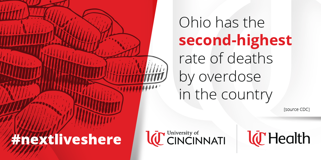 Ohio has the second-highest rate of deaths by overdose in the country