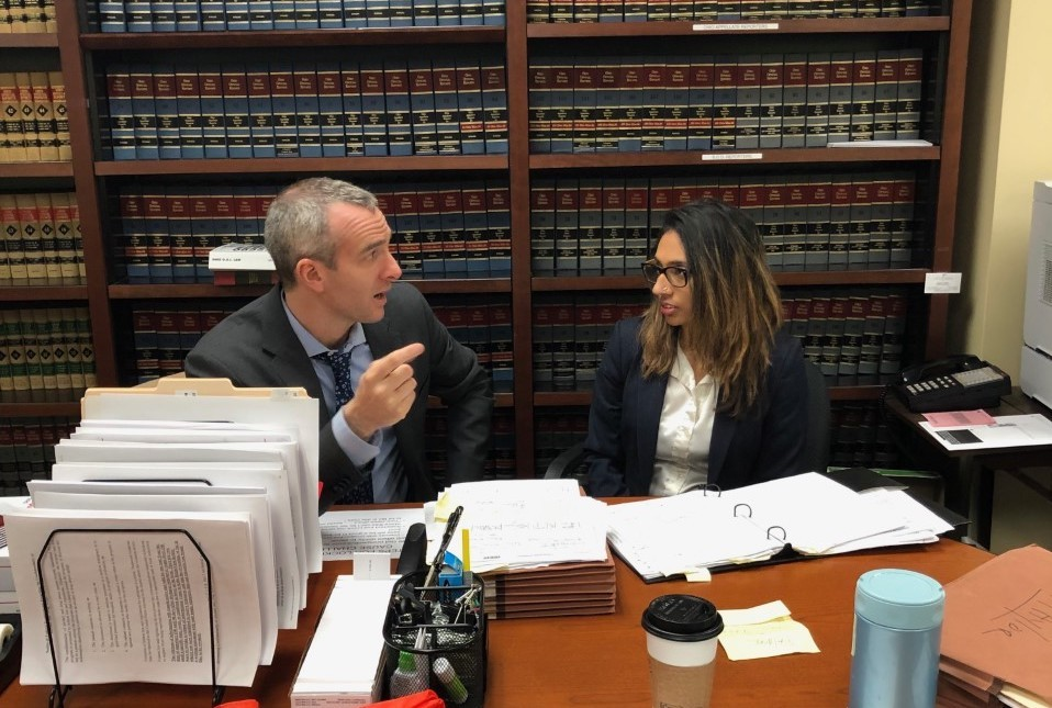 UC Law's Indigent Defense Clinic enters the courtroom