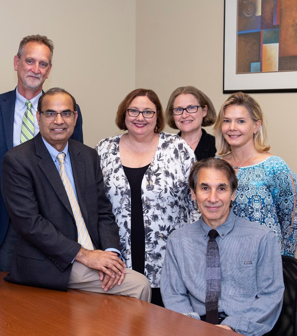 UC geriatric psychiatry team of clinicians