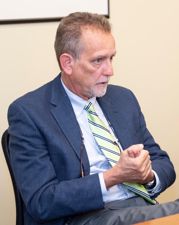 Michael Keys, MD, director of geriatric psychiatry