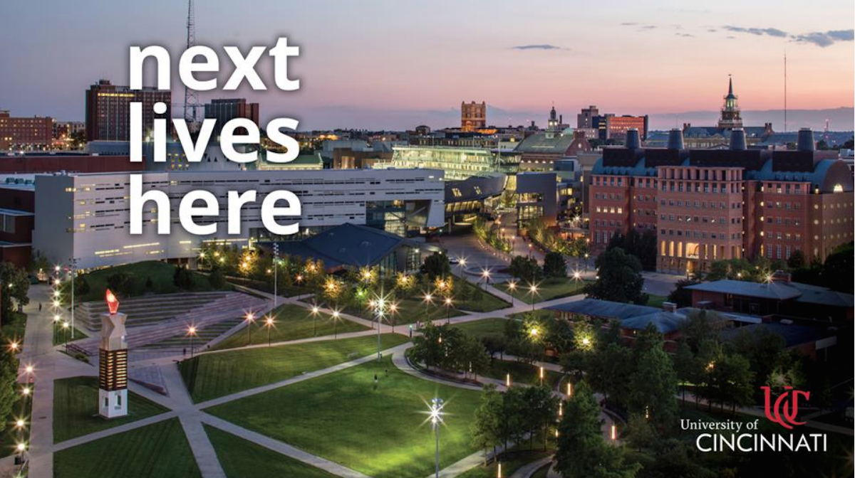 Aerial view of campus | Next Lives Here