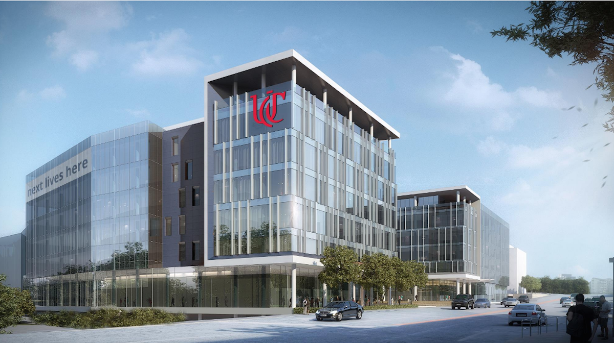 Rendering of proposed new Digital Futures building