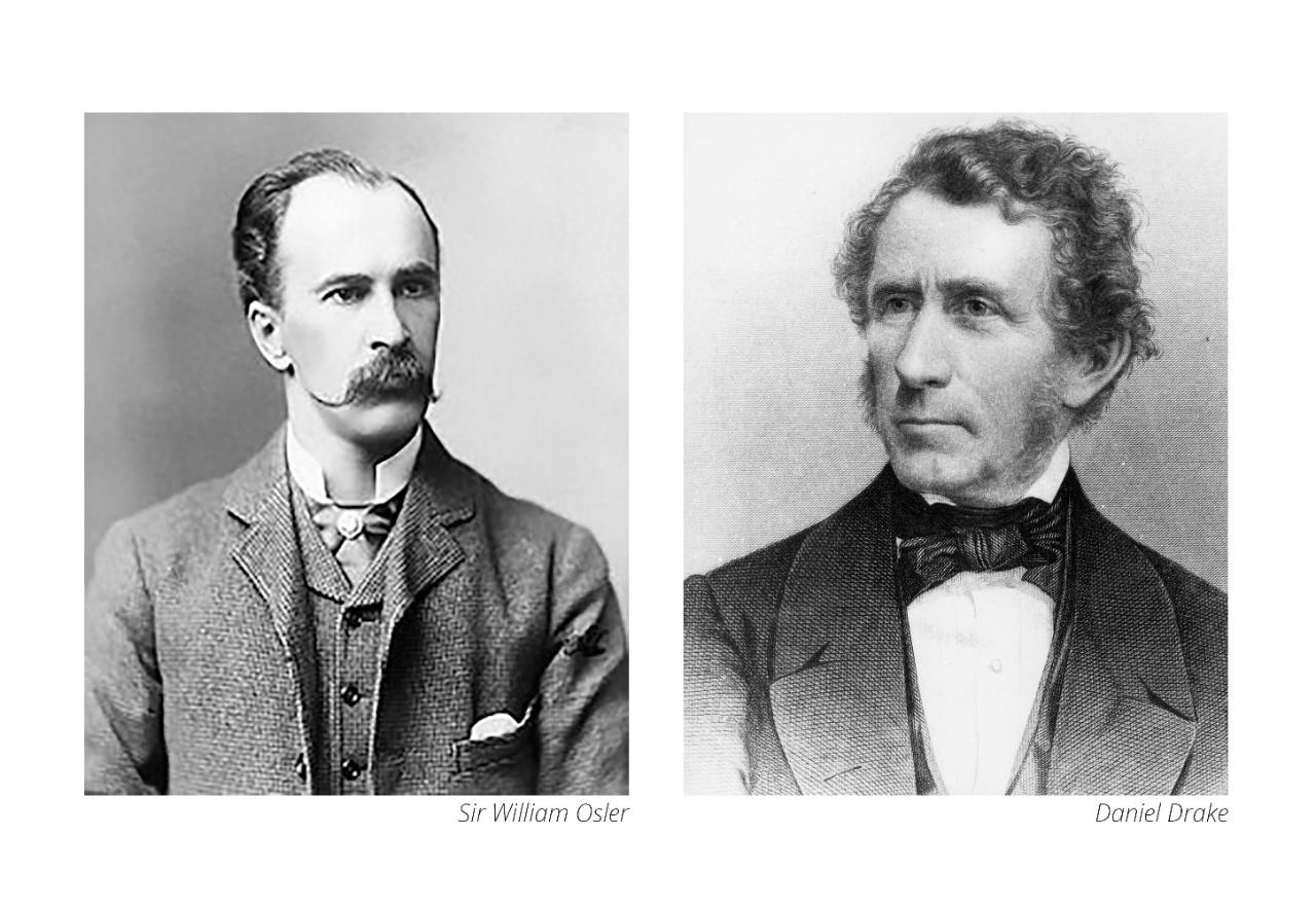 daniel drake and sir william osler