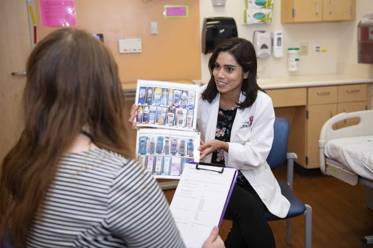 photo of Courtney Gianninni in the UC College of Medicine