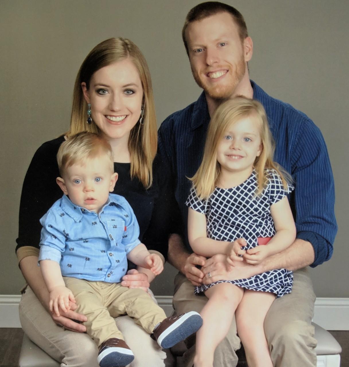 McClellan family portrait.