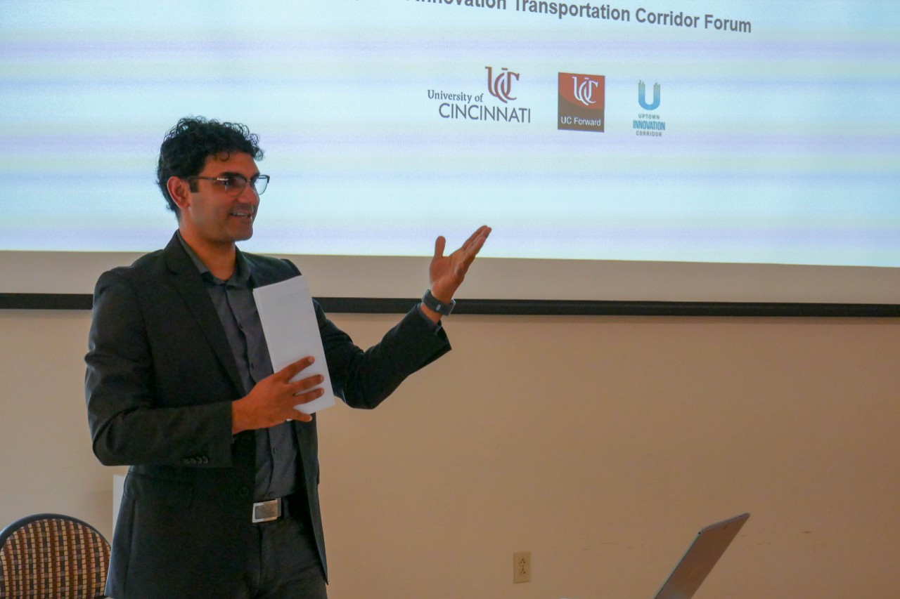 UC students present future of transportation at forum