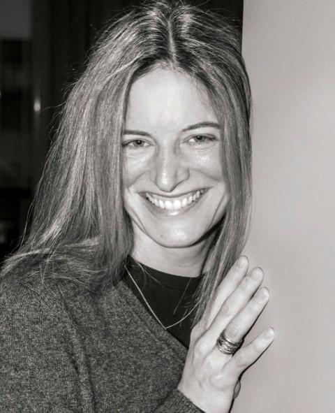Samantha Krukowski black and white headshot