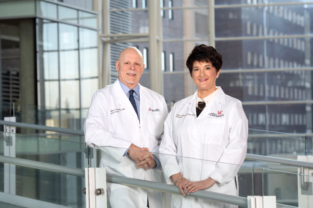 Steve Woodle, MD, and Rita Alloway, PharmD