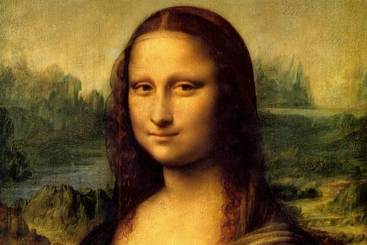 Da Vinci's Mona Lisa painting.