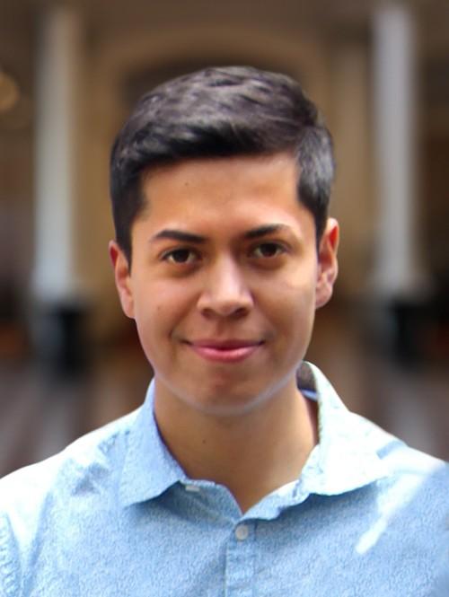 A portrait of CSO/CCM Diversity Fellow Cristian J. Diaz.